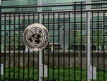 Έδρα των Ηνωμένων Εθνών στην πόλη της Νέας Υόρκης στοκ φωτογραφία με δικαίωμα ελεύθερης χρήσης
