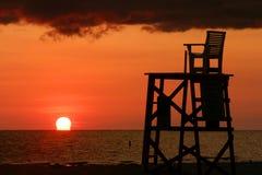 έδρα lifeguard Στοκ φωτογραφίες με δικαίωμα ελεύθερης χρήσης