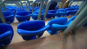 Έδρες αθλητισμού του μεγάλου σταδίων απόθεμα βίντεο