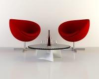 έδρες δύο Στοκ φωτογραφία με δικαίωμα ελεύθερης χρήσης