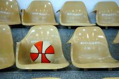 έδρες καλαθοσφαίρισης Στοκ Εικόνες