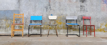 έδρες κενές Στοκ Εικόνες