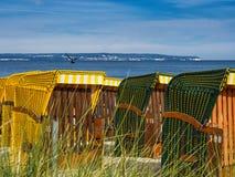 Έδρες παραλιών Στοκ εικόνα με δικαίωμα ελεύθερης χρήσης