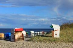 Έδρες παραλιών Στοκ φωτογραφίες με δικαίωμα ελεύθερης χρήσης