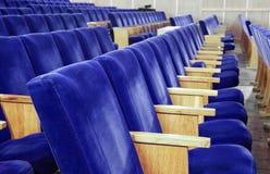 Έδρες στη σύγχρονη συνέλευση Στοκ εικόνες με δικαίωμα ελεύθερης χρήσης