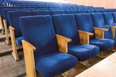 Έδρες στη σύγχρονη συνέλευση Στοκ Φωτογραφίες