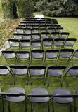 Έδρες στον κήπο Στοκ Εικόνες