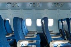 Έδρες στο αεροπλάνο Στοκ Εικόνα