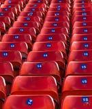 έδρες χώρων Στοκ Φωτογραφία