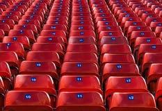 έδρες χώρων Στοκ φωτογραφία με δικαίωμα ελεύθερης χρήσης