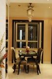 έδρες dinnertable Στοκ Φωτογραφίες