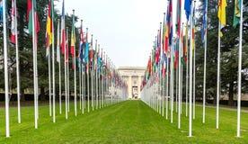 έθνη της Γενεύης που ενώνο στοκ εικόνα με δικαίωμα ελεύθερης χρήσης
