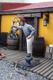 Έκθεμα στη θεματική στοά σε Ushuaia, Αργεντινή στοκ εικόνα με δικαίωμα ελεύθερης χρήσης