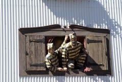 Έκθεμα στη θεματική στοά σε Ushuaia, Αργεντινή στοκ εικόνα