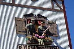 Έκθεμα στη θεματική στοά σε Ushuaia, Αργεντινή στοκ εικόνες με δικαίωμα ελεύθερης χρήσης
