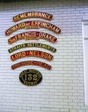 Έκθεμα στο εθνικό μουσείο σιδηροδρόμων στην Υόρκη, Γιορκσάιρ Αγγλία Στοκ Φωτογραφία