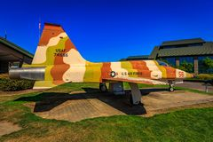 Έκθεση αεροσκαφών Στοκ φωτογραφία με δικαίωμα ελεύθερης χρήσης