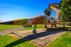 Έκθεση αεροσκαφών Στοκ Εικόνα