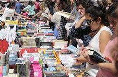 Έκθεση βιβλίων στη Μαγιόρκα ευρέως στοκ φωτογραφία με δικαίωμα ελεύθερης χρήσης