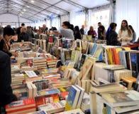 Έκθεση βιβλίων στο Brescia ` Librixia ` untranslatable Μεγάλη και μικρή επίδειξη βιβλιοπωλείων τα καλύτερα βιβλία τους Στοκ Εικόνες