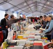 Έκθεση βιβλίων στο Brescia ` Librixia ` untranslatable Μεγάλη και μικρή επίδειξη βιβλιοπωλείων τα καλύτερα βιβλία τους Στοκ φωτογραφία με δικαίωμα ελεύθερης χρήσης