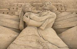 Έκθεση γλυπτών άμμου Στοκ Εικόνα