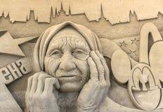 Έκθεση γλυπτών άμμου Στοκ εικόνες με δικαίωμα ελεύθερης χρήσης