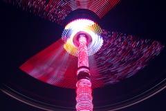 Έκθεση διασκέδασης τή νύχτα Στοκ Φωτογραφίες