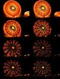 έκθεση κύκλων μακροχρόνι&alph Στοκ Εικόνες