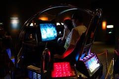 Έκθεση 8 κλασικών Arcade Στοκ Εικόνες