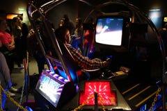 Έκθεση 5 κλασικών Arcade Στοκ εικόνες με δικαίωμα ελεύθερης χρήσης
