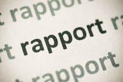 Έκθεση λέξης που τυπώνεται στη μακροεντολή εγγράφου στοκ φωτογραφία με δικαίωμα ελεύθερης χρήσης