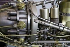 Έκθεση λεπτομέρειας προωθητών μηχανών πυραύλων Στοκ Εικόνα