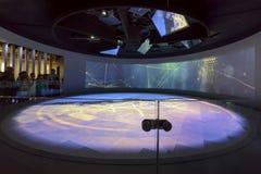 Έκθεση μέσα στα Ηνωμένα Αραβικά Εμιράτα Pavilllon #1, EXPO 2015 Μ Στοκ Εικόνες