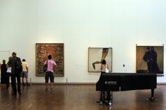 Έκθεση μέσα στο μουσείο Leopold στη Βιέννη Στοκ εικόνα με δικαίωμα ελεύθερης χρήσης
