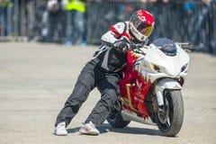 Έκθεση μοτοσικλετών Στοκ φωτογραφία με δικαίωμα ελεύθερης χρήσης