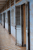Έκθεση στη φυλακή Tuol Sleng S21, Πνομ Πενχ Στοκ εικόνες με δικαίωμα ελεύθερης χρήσης