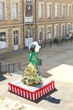 Έκθεση σύγχρονης τέχνης στο Castle των δουκών, Νάντη Στοκ εικόνες με δικαίωμα ελεύθερης χρήσης