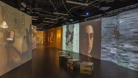 Έκθεση του Βαν Γκογκ Στοκ εικόνα με δικαίωμα ελεύθερης χρήσης