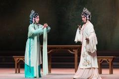 """Έκθεση το ανώτερος-δεύτερο πράξη-Kunqu Opera""""Madame άσπρο Snake† Στοκ Εικόνα"""