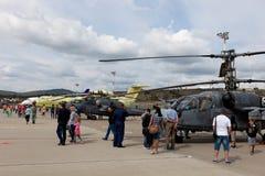 Έκθεση των αεροσκαφών σε Gidroaviasalon 2016, Ρωσία Στοκ εικόνες με δικαίωμα ελεύθερης χρήσης