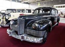 Έκθεση των εκλεκτής ποιότητας αυτοκινήτων στο πάρκο Sokolniki Στοκ Εικόνες