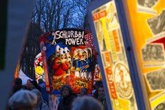 Έκθεση φαναριών της Βασιλείας καρναβάλι 2017 Στοκ Φωτογραφίες