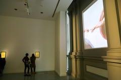 Έκθεση Michelangelo στο National Gallery - το Tbilisi Γεωργία στοκ εικόνα με δικαίωμα ελεύθερης χρήσης