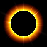 έκλειψη ηλιακή διανυσματική απεικόνιση