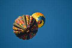 Έκλειψη μπαλονιών ζεστού αέρα Στοκ Εικόνες