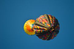 Έκλειψη μπαλονιών ζεστού αέρα Στοκ Εικόνα