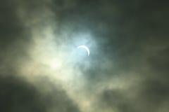 Έκλειψη του ήλιου Στοκ Εικόνες