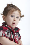 έκπληξη μωρών Στοκ εικόνα με δικαίωμα ελεύθερης χρήσης