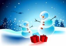 έκπληξη Χριστουγέννων διανυσματική απεικόνιση